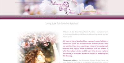 blossoming women